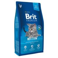 Brit Premium Cat Kitten С курицей в лососевом соусе для котят