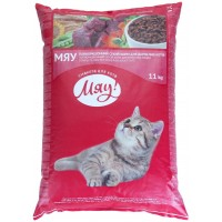 МЯУ корм для кошек с индейкой и садовой травой