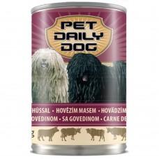 Консервы Pet Daily Dog Beef для собак с говядиной 415г