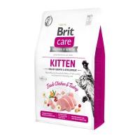 Brit Care Cat GF Kitten Healthy Growth & Development гипоаллергенный беззерновой корм для котят