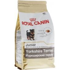 Royal Canin Yorkshire Terrier Junior -  корм для щенков йоркширских терьеров с 2 до 10 месяцев.