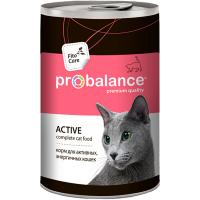 ProBalance ведущих активный образ жизни для кошек 415г
