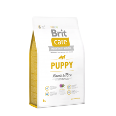 Brit Care Puppy All Breed  корм для щенков всех пород, ягненок с рисом