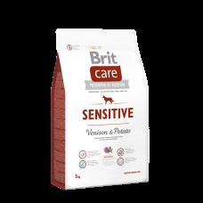 Brit Care Dog Sensitive (Venison) — для собак с чувствительным пищеварением, оленина с картофелем