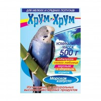 Хрум-Хрум с Морской капустой для мелких и средних попугаев