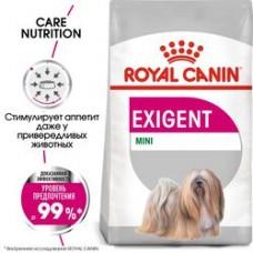Royal Canin Mini Exigent - сухой корм для собак мелких пород привередливых к еде