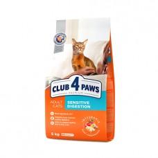 Club 4 Paws для кошек с чувствительным пищеварением