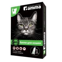 Gamma Капли БИО для кошек от внешних паразитов 1 мл.