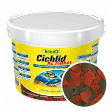Tetra Cichlid XL Flakes корм в виде хлопьев
