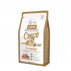 Brit Care Cat Cocco гипоаллергенный с уткой и лососем для привередливых