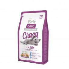 Brit Care Cat Crazy Kitten гиппоаллергенный с курицей для котят