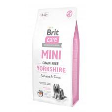 Brit Care MINI GF Yorkshire - беззерновой корм для йоркширских терьеров
