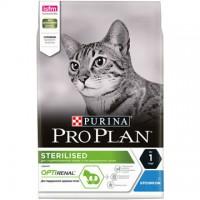 Pro Plan Sterilised для стерилизованных кошек с кроликом