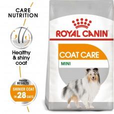 Royal Canin Mini Coat Care - корм для собак с тусклой и сухой шерстью