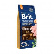 Brit Premium by Nature Adult M - корм для взрослых собак средних пород