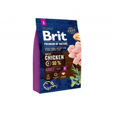 Brit Premium by Nature Adult S - корм для взрослых собак мелких пород