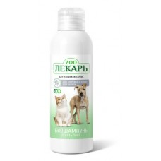 Биошампунь ЭКО Zooлекарь 9 трав для кошек и собак 200мл