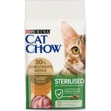 Cat Chow 3в1 для кошек с индейкой