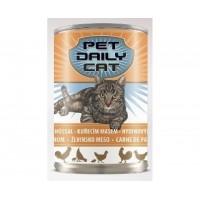 Консервы Pet Daily Cat Poultry для взрослых кошек с курицей 415г