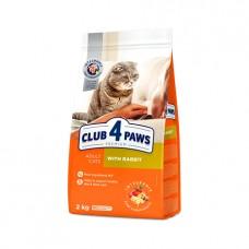 Club 4 Paws для кошек с кроликом