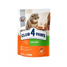 Club 4 Paws для кошек с курицей
