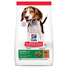Hill's Puppy Lamb & Rice для щенков мелких и средних пород с ягненком с рисом.