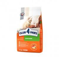 Club 4 Paws для котят с курицей