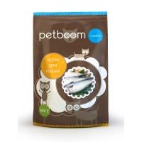 Petboom корм сухой для кошек с рыбой