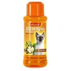 Шампунь Amstrel для гладкошерстных  кошек с маслом ши 320мл