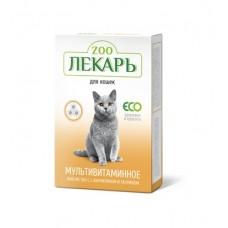 Zooлекарь мультивитаминное лакомство для котов с L-карнитином 90таб.